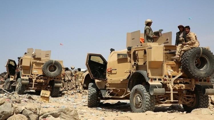التحالف العربي يعترض صاروخا باليستيا في سماء مأرب