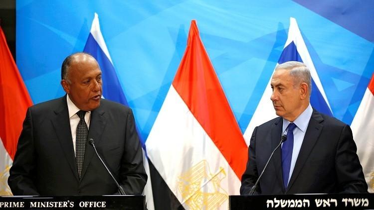 شكري من تل أبيب: الإرهاب يعرقل عملية السلام في المنطقة