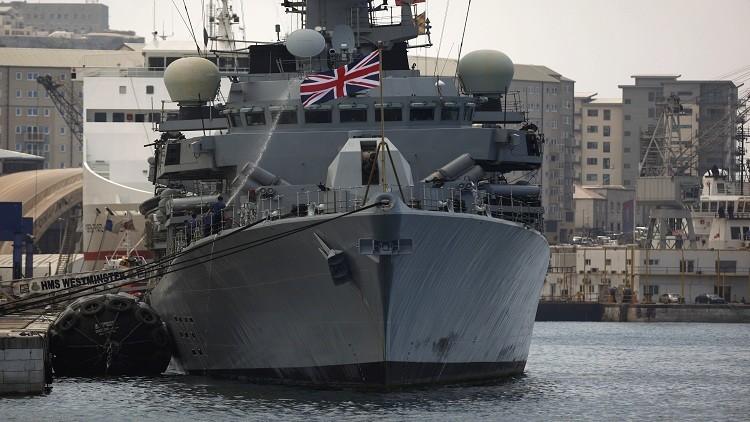 سفن حربية بريطانية ترسو في سواحل ليبيا