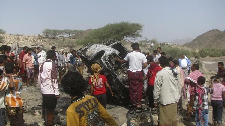 طائرة بدون طيار تستهدف مقاتلي القاعدة في اليمن