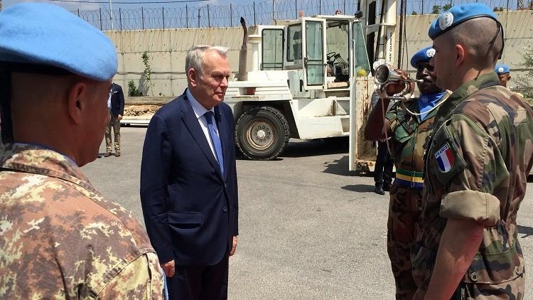باريس تتعهد بالسعي للحفاظ على السلام في لبنان