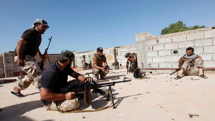 هجوم مسلح قرب المقر السابق للحكومة الليبية