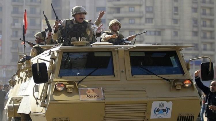 تصفية أربعة مسلحين شمال سيناء