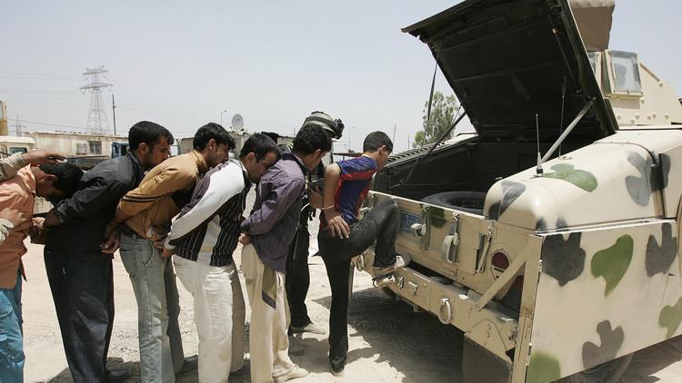 اعتقال شرطي عراقي أثار جدلا على
