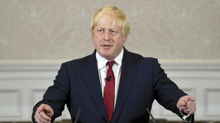 تعيين بوريس جونسون وزيرا لخارجية بريطانيا