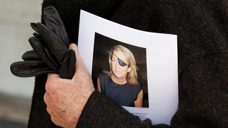 الأسد ينفي مسؤولية القوات السورية عن مقتل صحفية أمريكية