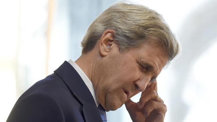 كيري يطلع الوزراء الأوروبيين على نتائج مشاوراته في روسيا