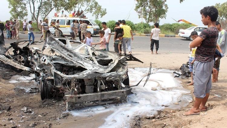 نجاة محافظ عدن من هجوم بسيارة مفخخة