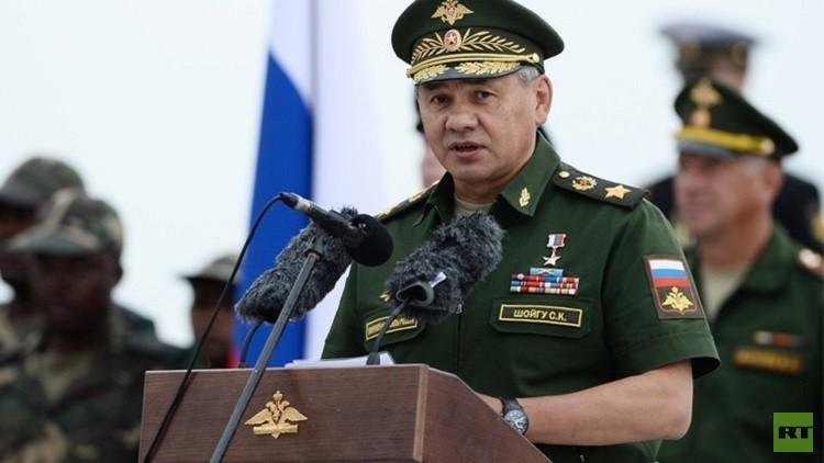 وزير الدفاع الروسي رسام أيضا!