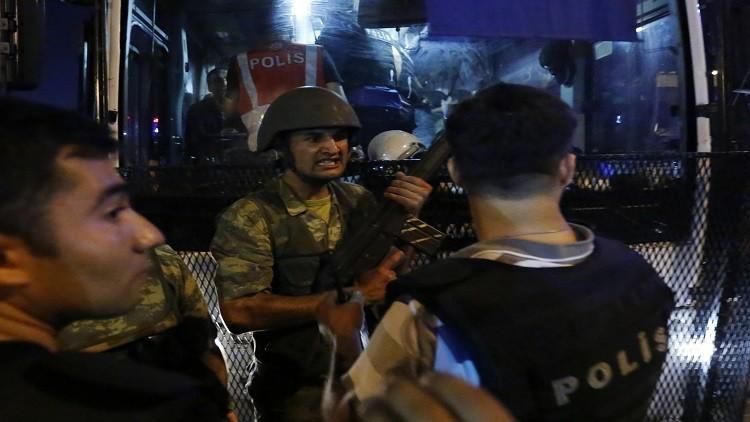 أنقرة تعلن اعتقال جميع منظمي الانقلاب الفاشل