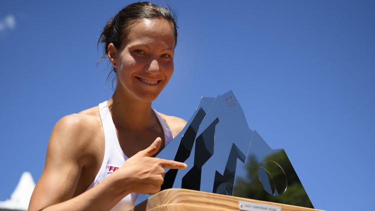 لاعبة التنس السويسرية غولوبيتش تحرز باكورة ألقابها