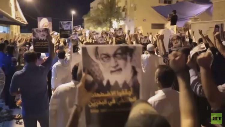 فيديو.. مواجهات في البحرين على خلفية حل جمعية الوفاق