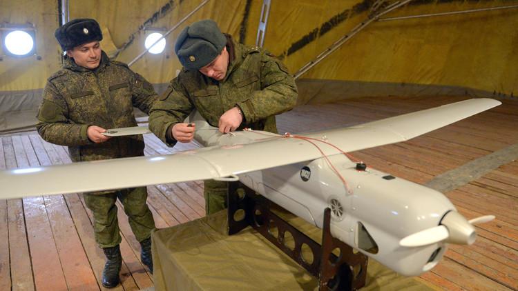 طائرة بلا طيار تعمل بالهيدروجين تشارك بالعملية الروسية في سوريا