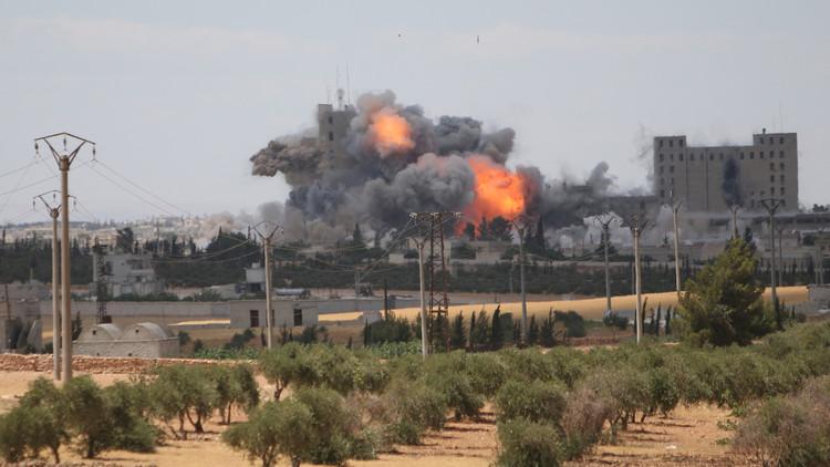 ناشطون: مقتل 56 مدنيا في غارات جديدة للتحالف على منبج