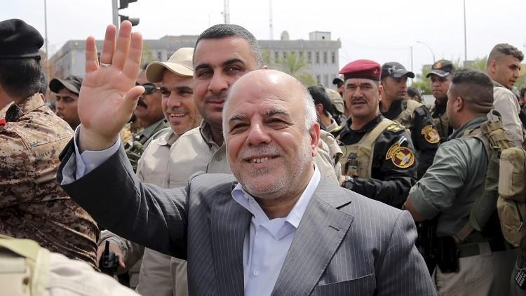 العبادي يقبل استقالة 6 وزراء عراقيين
