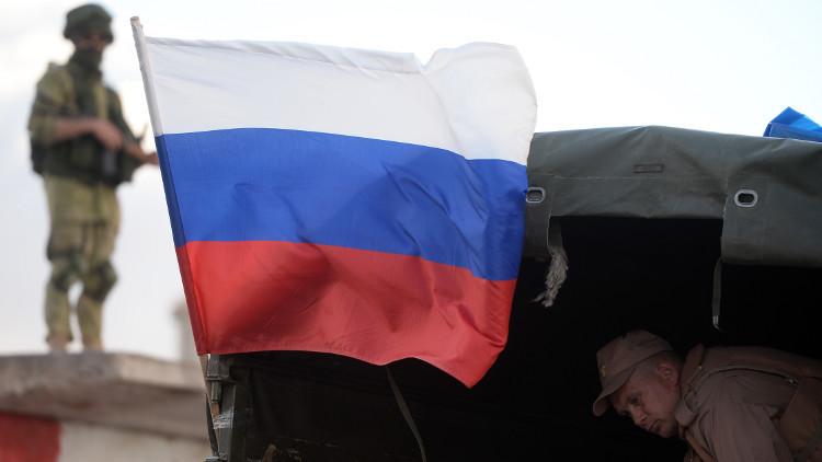 إيصال مساعدات إنسانية روسية إلى قرية باللاذقية