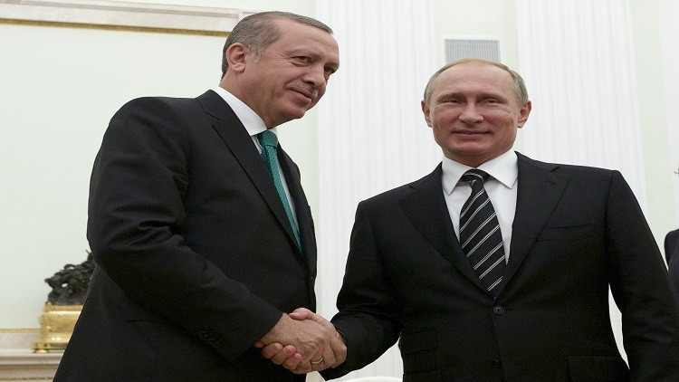 بوتين وأردوغان سيلتقيان أوائل أغسطس