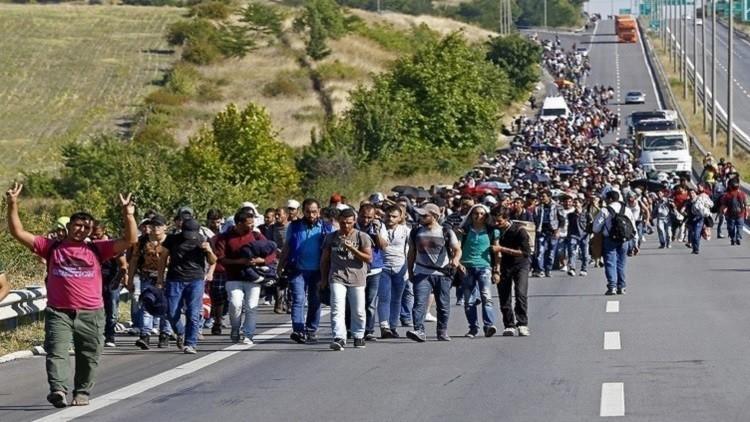 الشرطة البلغارية تعتقل مهاجرين غير شرعيين في صوفيا