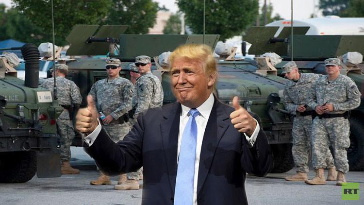 خبير: انقلاب عسكري سيهز الولايات المتحدة حال انتخاب ترامب رئيسا