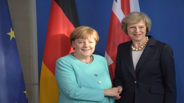 ميركل تمنح بريطانيا مهلة لمغادرة الاتحاد