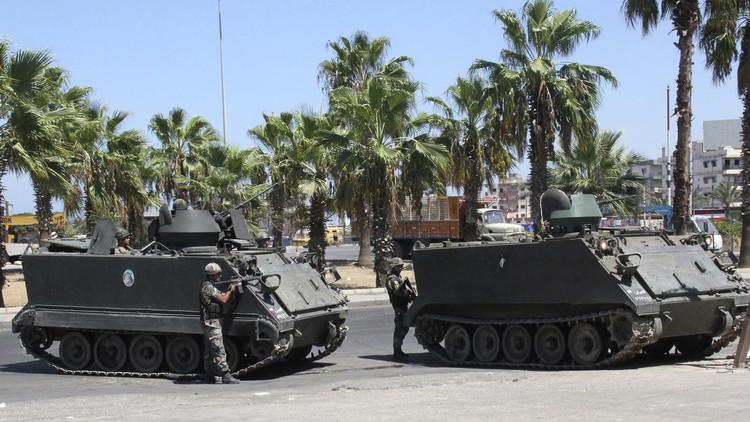 الجيش اللبناني يطوق باخرتين قادمتين من تركيا