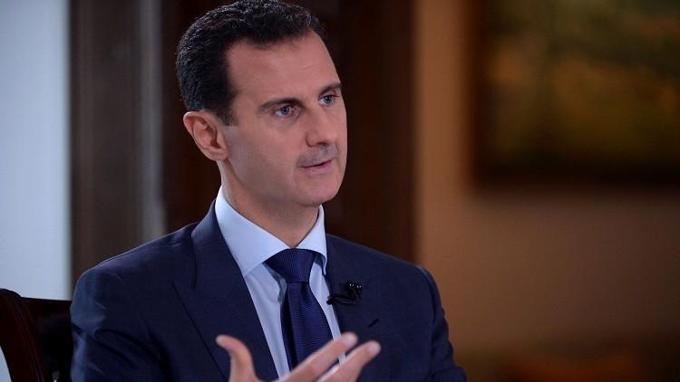 الأسد: أردوغان استخدم الانقلاب لتنفيذ أجندته المتطرفة