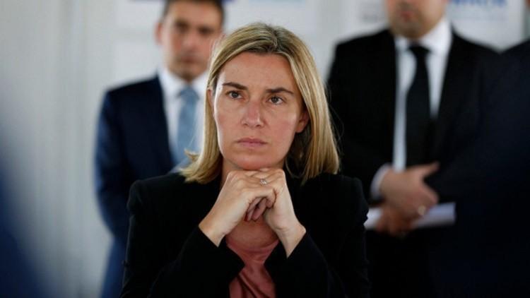 موغيريني تحذر من تقويض حقوق الإنسان في تركيا