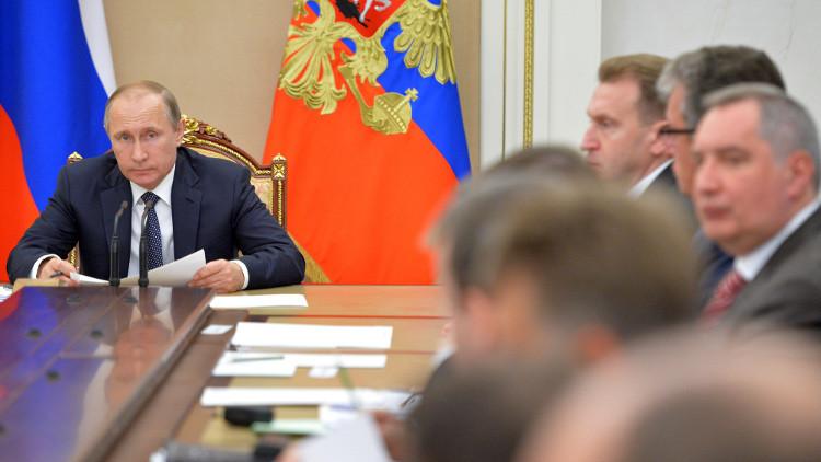 بوتين: لا مكان للمنشطات في الرياضة الروسية