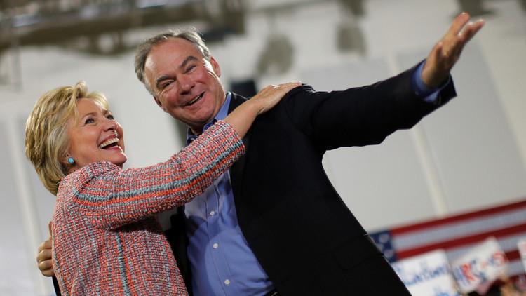 كلينتون تختار نائبها في الانتخابات المقبلة