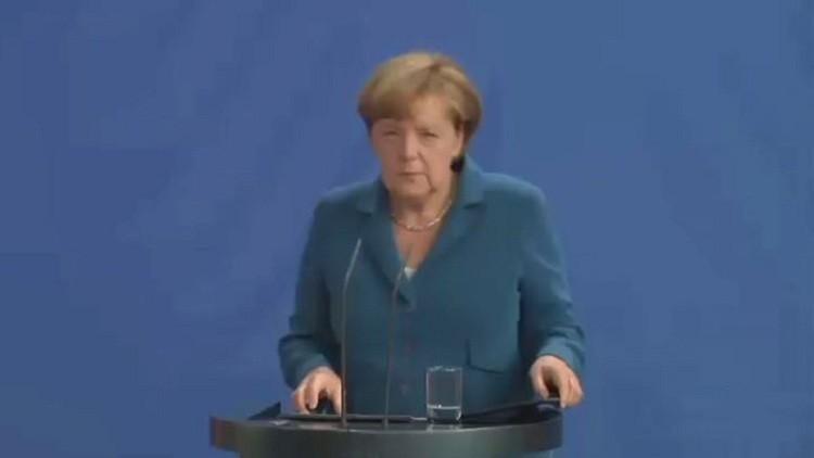 ميركل: دوافع هجوم ميونيخ مجهولة