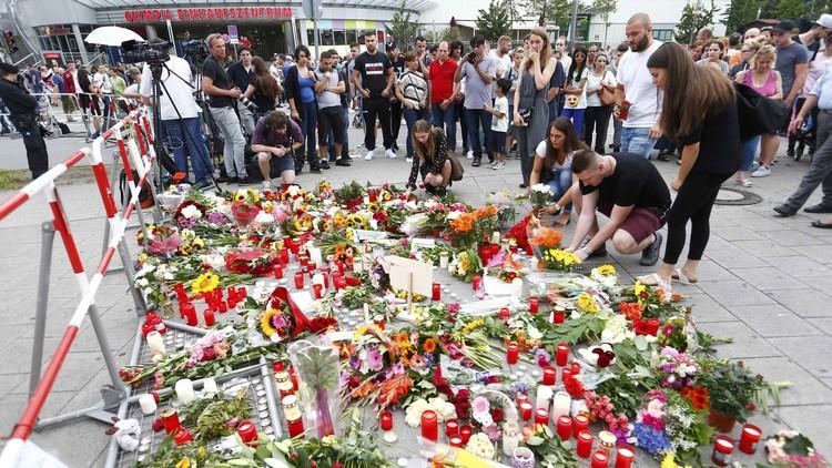 الصور الأولى لضحايا هجوم ميونيخ