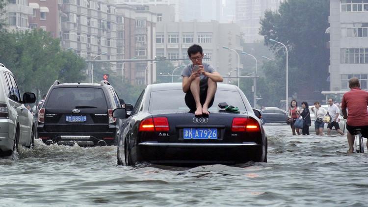 الفيضانات تقتل 114 في الصين