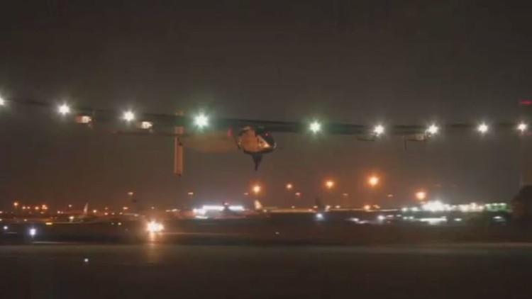 سولار إمبالس 2 إلى أبو ظبي منهية رحلتها حول العالم