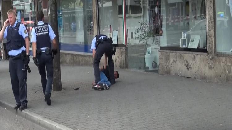 فيديو للشخص المحتمل الذي هاجم المارة في ألمانيا