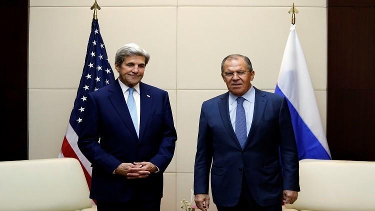 سوريا تتصدر مباحثات لافروف وكيري في لاوس