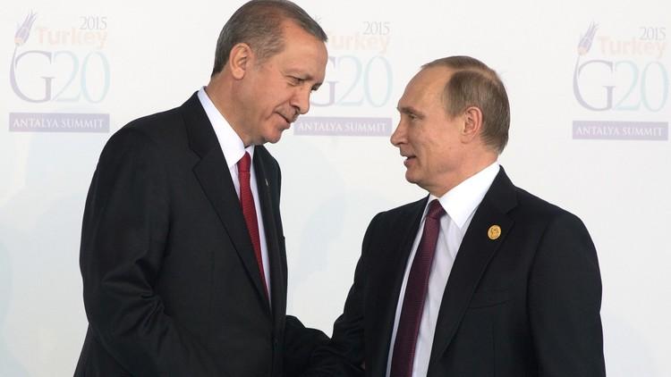 بوتين وأردوغان يلتقيان يوم 9 أغسطس في بطرسبورغ