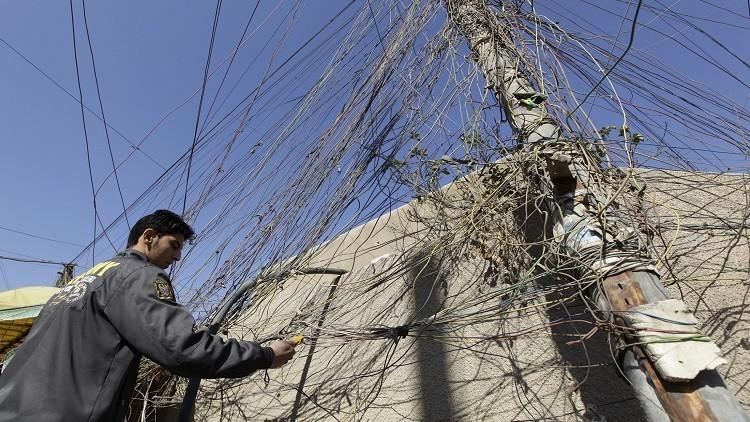 إيران توقف إمدادات الكهرباء عن العراق فجأة