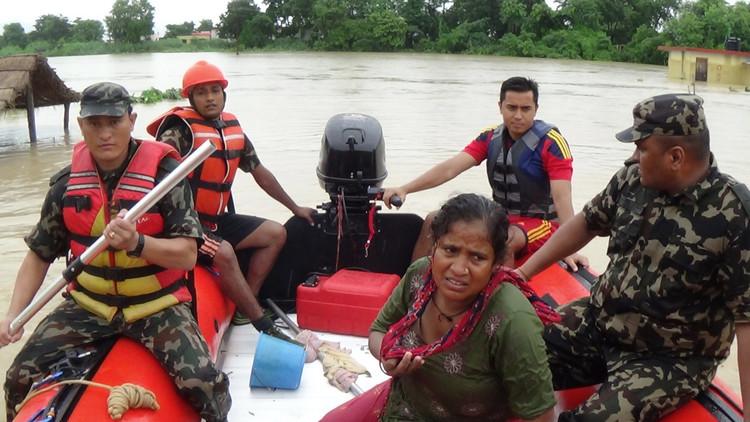 فيضانات في نيبال والحصيلة 58 قتيلا و20 مفقودا