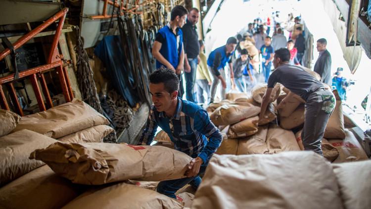 روسيا توضح للدبلوماسيين الأجانب حيثيات عملية الإغاثة الانسانية في حلب