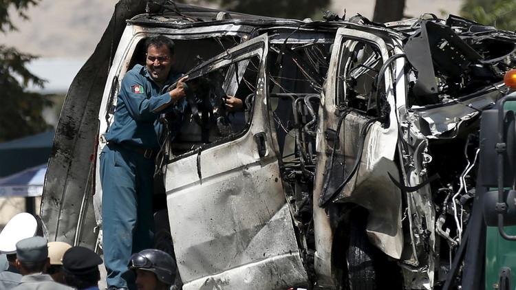 مقتل موظف في البرلمان الأفغاني بانفجار سيارة في كابل