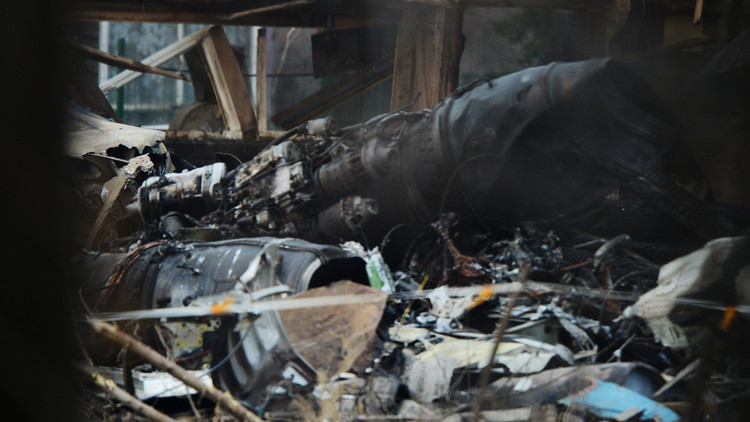 تحطم طائرة تدريب ومصرع قائدها وسط روسيا