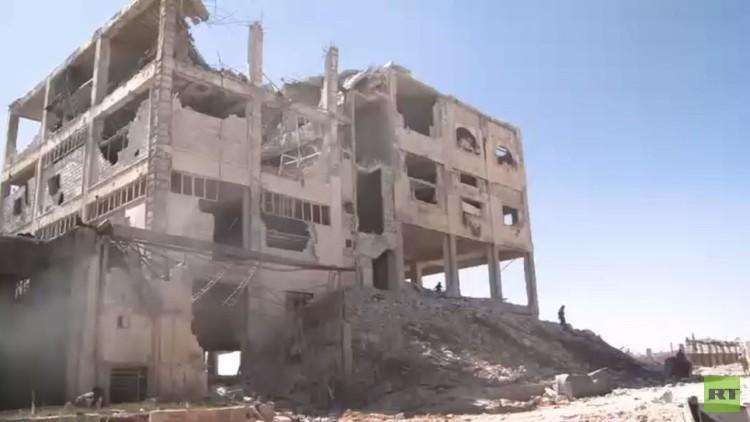 عدسة RT توثق صورة الأوضاع شمال حلب