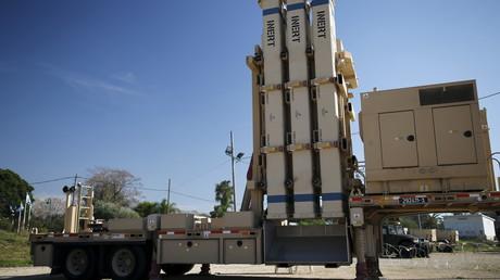 """منظومة """"مقلاع داوود"""" الإسرائيلية المضادة للصواريخ"""