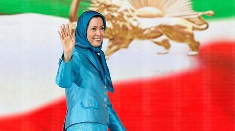 مريم رجوي زعيمة المعارضة الإيرانية