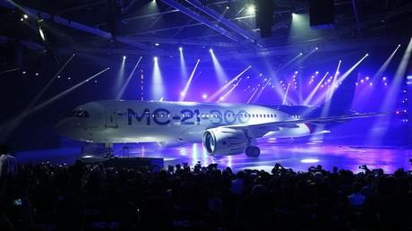 """عرض طائرة """"إس إم - 21"""" الروسية"""