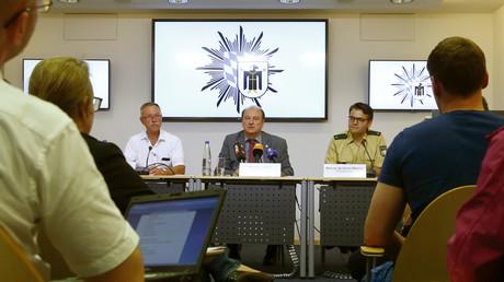 مؤتمر صحفي لقائد شرطة ميونيخ