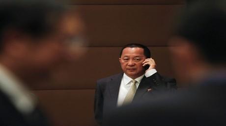 وزير الخارجية الكوري الشمالي لي يونغ هو