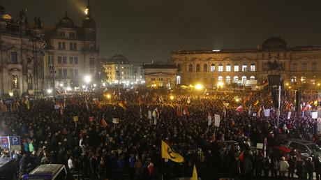 مظاهرات ضد الهجرة في ألمانيا