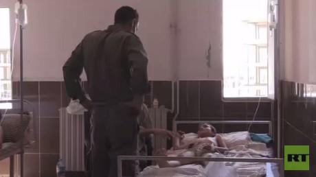 جرحى منبج في مشفى مدينة عين العرب