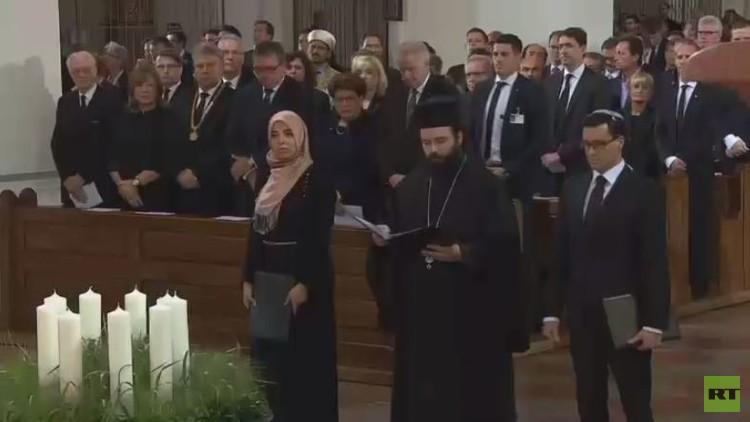 قداس تذكاري لأرواح ضحايا الهجوم في ميونيخ